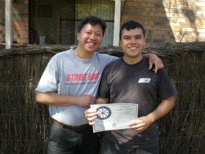 Ray Floro and John Intervalo